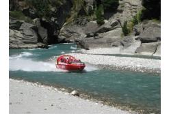Jet Boat en el Río Shotover