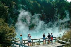 Rotorua, maravilla geotermal