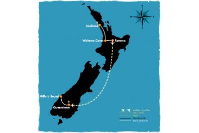 NZ Clásica - 8 días en bus