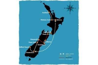 Lo mejor de NZ - 14 días en bus