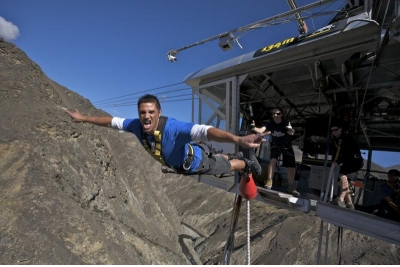 Bungy Jumping Nevis