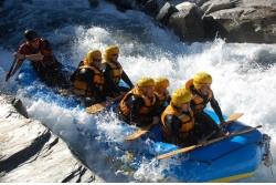 Rafting en el Río Shotover